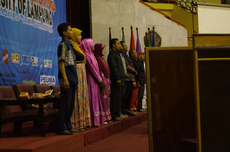 Tamu Undangan Pembukaan egional Pencak Silat Championship UNILA