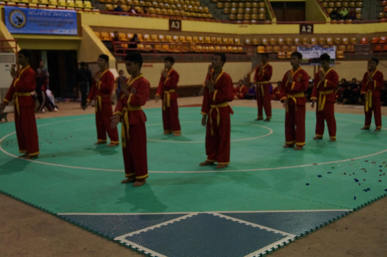 Team Atrakasi Regional Pencak Silat Championship UNILA