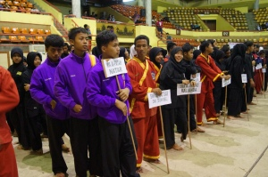Peserta Regional Pencak Silat Championship UNILA