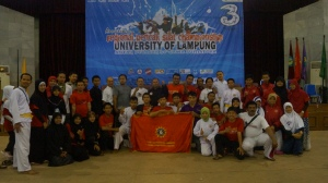 Wasit juri dan Panitia Regional Pencak Silat Championship UNILA